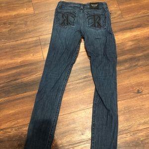 Rock & Republic Berlin Skinny Jeans Size 27